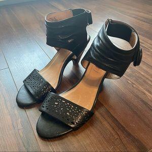 Miz Mooz Winona Kitten Heel Wedge Sandal